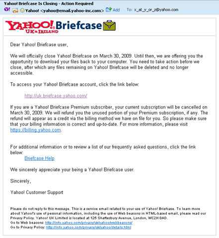 Yahoo briefcase bukkake